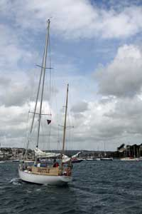 Yachts and sailing near Falmouth Cornwall