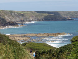 secluded beaches in cornwall